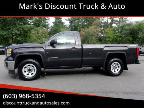 2015 GMC Sierra 1500 for sale at Mark's Discount Truck & Auto in Londonderry NH
