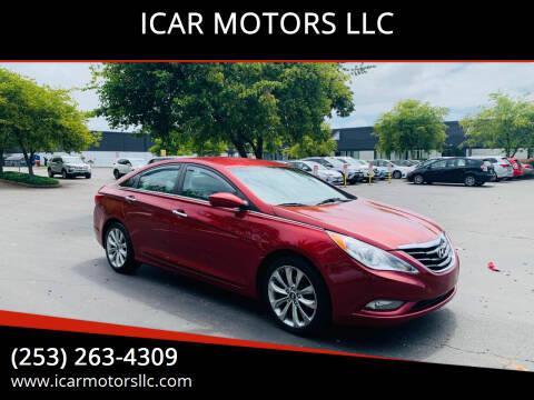2011 Hyundai Sonata for sale at ICAR MOTORS LLC in Federal Way WA