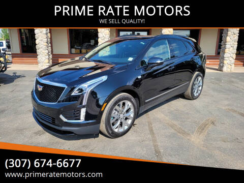 2021 Cadillac XT5 for sale at PRIME RATE MOTORS in Sheridan WY