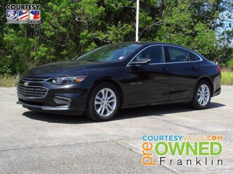 2018 Chevrolet Malibu for sale at Courtesy Toyota & Ford in Morgan City LA
