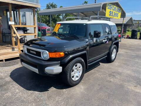 2008 Toyota FJ Cruiser for sale at Texas 1 Auto Finance in Kemah TX