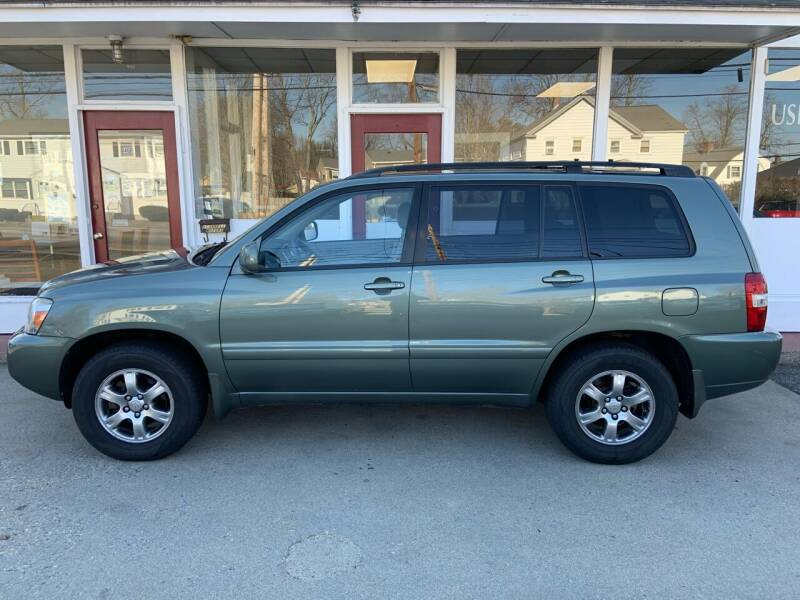 2004 Toyota Highlander for sale at O'Connell Motors in Framingham MA