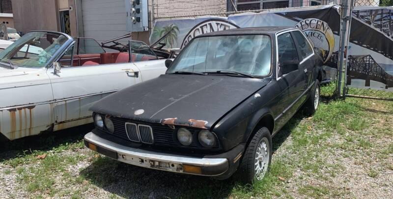 1986 BMW 3 Series for sale at Crescent Collision Inc. in Jefferson LA