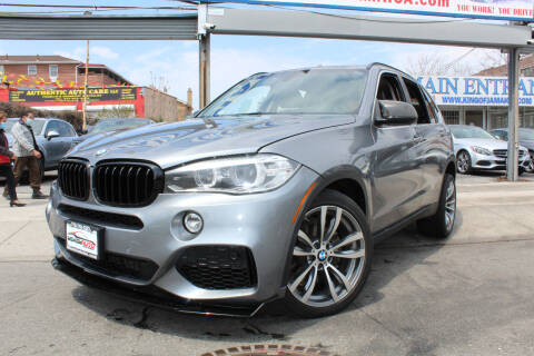 2014 BMW X5 for sale at MIKEY AUTO INC in Hollis NY
