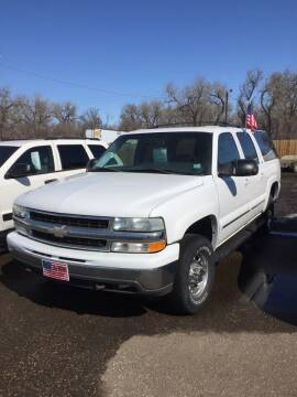 2003 Chevrolet Suburban for sale at L & J Motors in Mandan ND