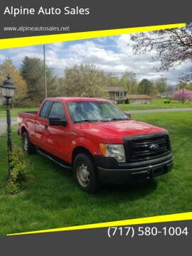 2013 Ford F-150 for sale at Alpine Auto Sales in Carlisle PA