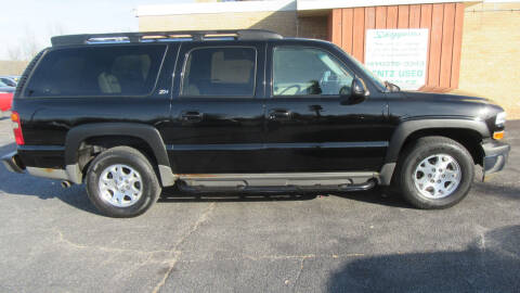 2002 Chevrolet Suburban for sale at LENTZ USED VEHICLES INC in Waldo WI