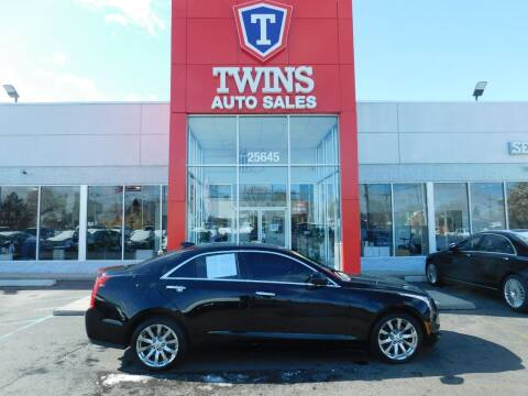 2017 Cadillac ATS for sale at Twins Auto Sales Inc Redford 1 in Redford MI
