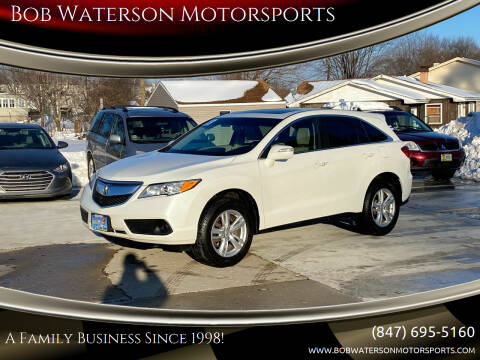 2013 Acura RDX for sale at Bob Waterson Motorsports in South Elgin IL