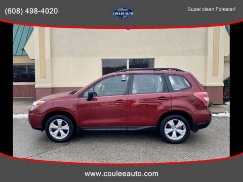2016 Subaru Forester for sale at Coulee Auto in La Crosse WI