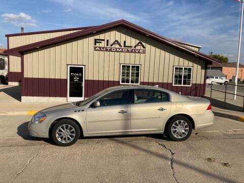 2009 Buick Lucerne for sale at Fiala Automotive in Howells NE