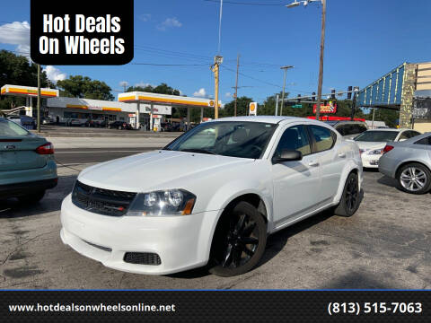 2014 Dodge Avenger for sale at Hot Deals On Wheels in Tampa FL