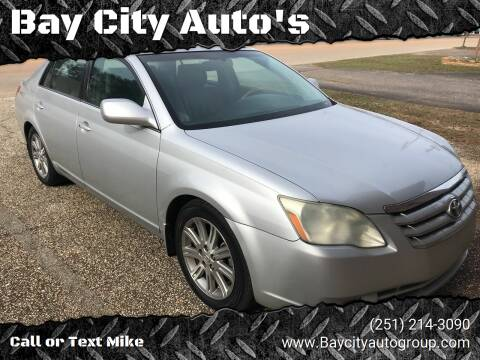 2006 Toyota Avalon for sale at Bay City Auto's in Mobile AL