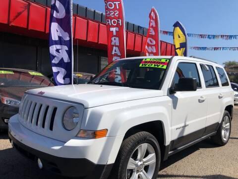 2017 Jeep Patriot for sale at Duke City Auto LLC in Gallup NM