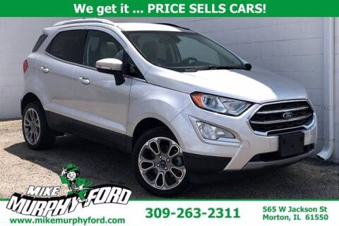 2018 Ford EcoSport for sale at Mike Murphy Ford in Morton IL