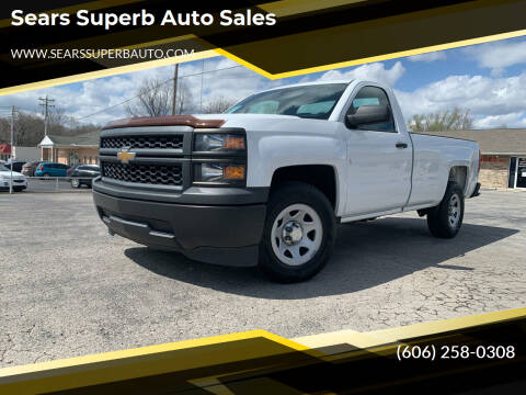 2014 Chevrolet Silverado 1500 for sale at Sears Superb Auto Sales in Corbin KY