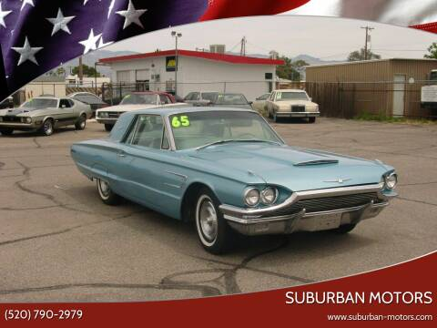 1965 Ford Thunderbird for sale at Suburban Motors in Tucson AZ