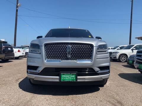 2019 Lincoln Navigator for sale at Primetime Auto in Corpus Christi TX