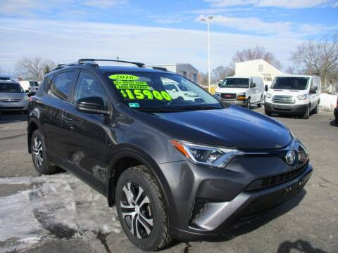 2016 Toyota RAV4 for sale at AUTO FACTORY INC in East Providence RI