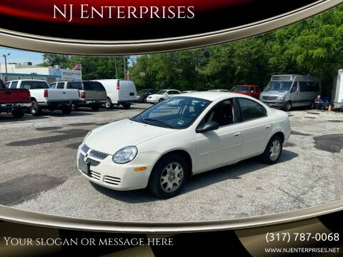 2005 Dodge Neon for sale at NJ Enterprises in Indianapolis IN