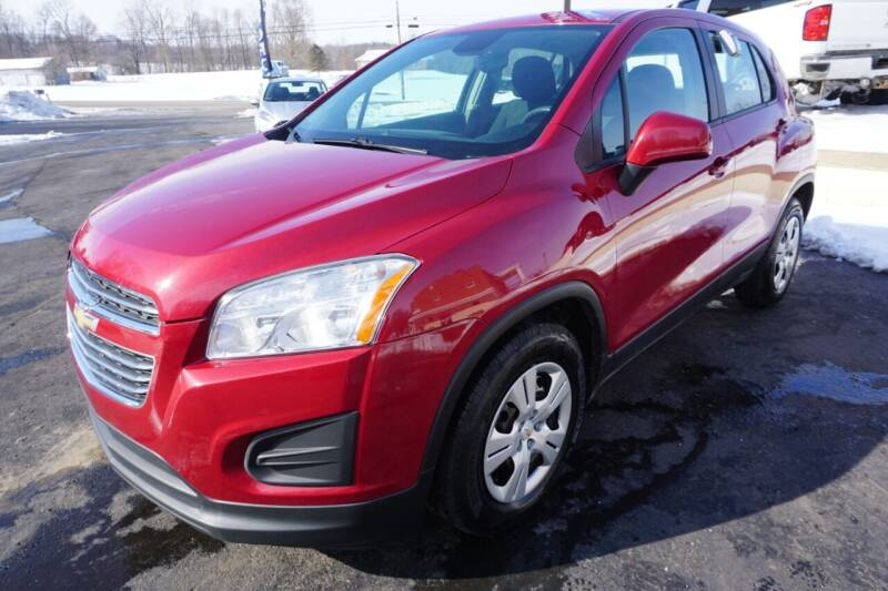 2015 Chevrolet Trax for sale at MyEzAutoBroker.com in Mount Vernon OH