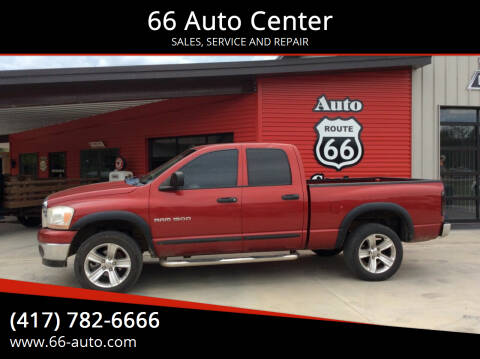 2006 Dodge Ram Pickup 1500 for sale at 66 Auto Center in Joplin MO