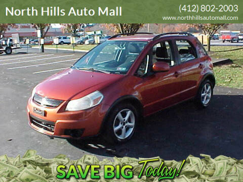 2009 Suzuki SX4 Crossover for sale at North Hills Auto Mall in Pittsburgh PA