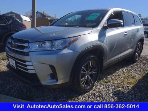 2019 Toyota Highlander for sale at Autotec Auto Sales in Vineland NJ