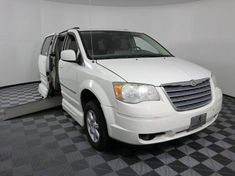 2010 Chrysler Town and Country for sale at AMS Vans in Tucker GA