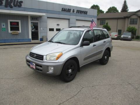 2003 Toyota RAV4 for sale at Cars R Us Sales & Service llc in Fond Du Lac WI