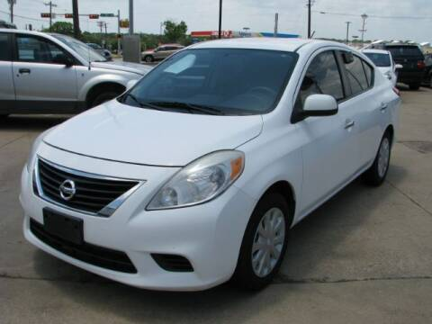 2013 Nissan Versa for sale at Auto Limits in Irving TX