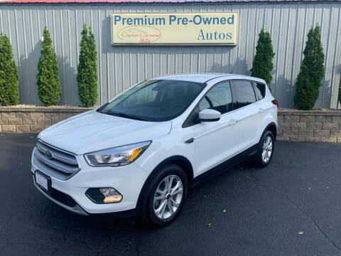 2019 Ford Escape for sale at PREMIUM PRE-OWNED AUTOS in East Peoria IL