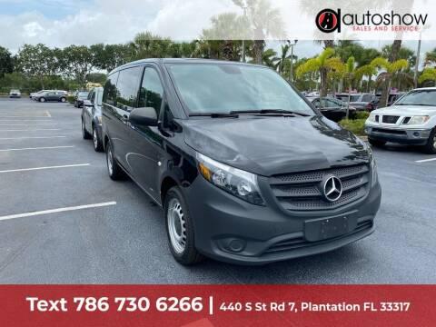 2019 Mercedes-Benz Metris for sale at AUTOSHOW SALES & SERVICE in Plantation FL