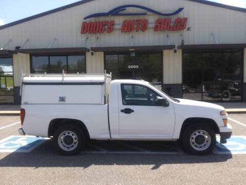 2012 Chevrolet Colorado for sale at DOUG'S AUTO SALES INC in Pleasant View TN