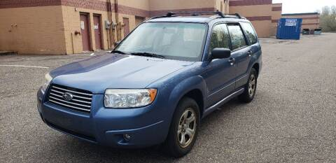 2007 Subaru Forester for sale at Fleet Automotive LLC in Maplewood MN