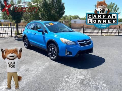 2017 Subaru Crosstrek for sale at DUKE CITY AUTO SALES in Albuquerque NM