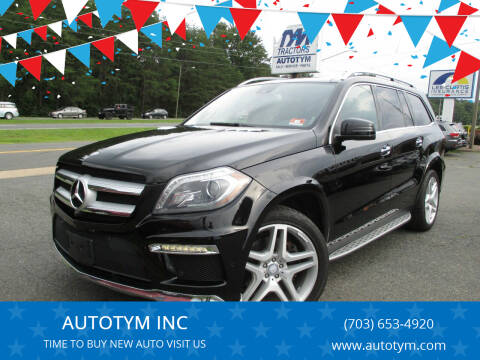 2013 Mercedes-Benz GL-Class for sale at AUTOTYM INC in Fredericksburg VA
