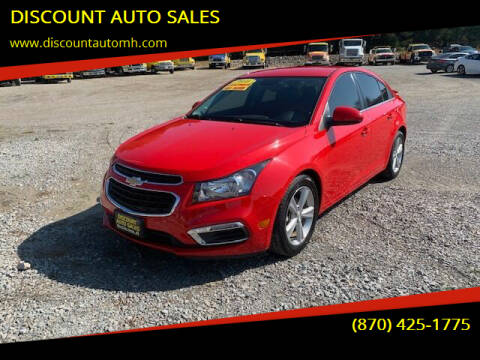 2016 Chevrolet Cruze Limited for sale at DISCOUNT AUTO SALES in Mountain Home AR