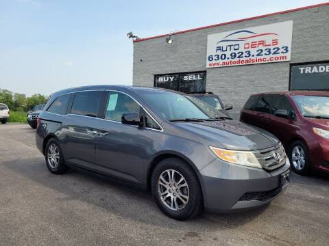 2012 Honda Odyssey for sale at Auto Deals in Roselle IL
