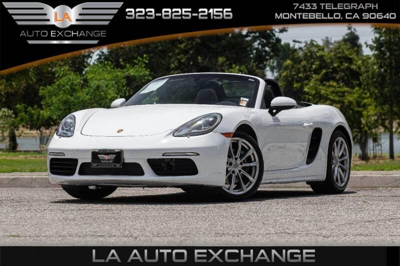 2017 Porsche 718 Boxster for sale in Montebello, CA