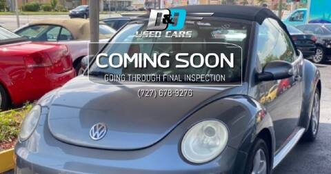 2006 Volkswagen New Beetle Convertible for sale at D & D Used Cars in New Port Richey FL