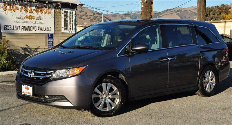 2014 Honda Odyssey for sale at AMC Auto Sales, Inc. in Fremont CA