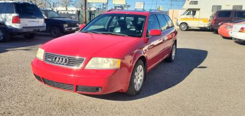 2000 Audi A6 for sale at One Community Auto LLC in Albuquerque NM