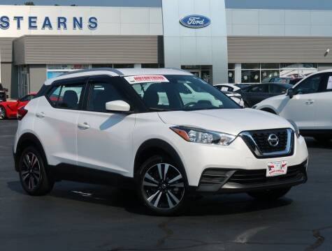 2020 Nissan Kicks for sale at Stearns Ford in Burlington NC