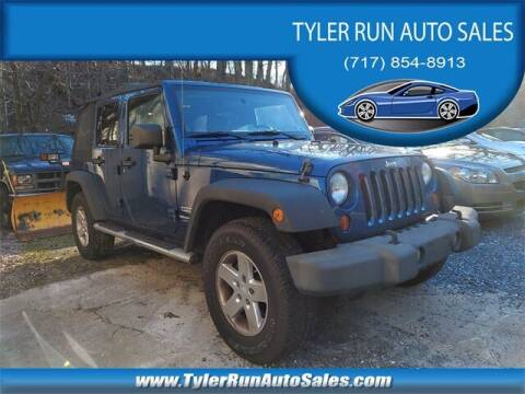 2010 Jeep Wrangler Unlimited for sale at Tyler Run Auto Sales in York PA