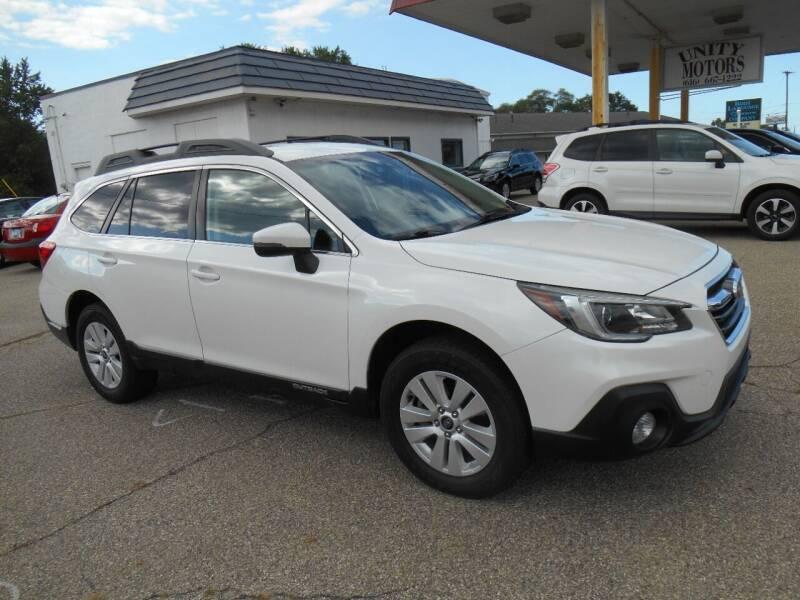 2019 Subaru Outback for sale at Unity Motors LLC in Jenison MI