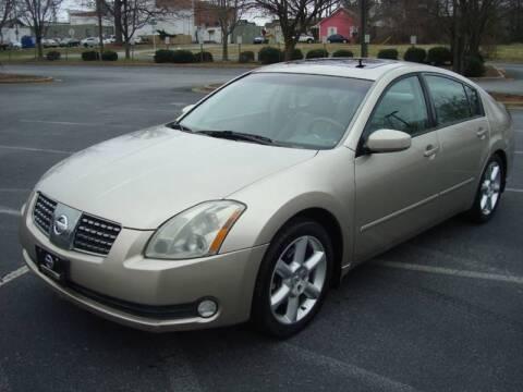 2005 Nissan Maxima for sale at Uniworld Auto Sales LLC. in Greensboro NC