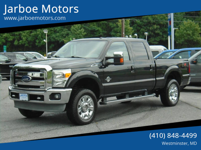 2011 Ford F-350 Super Duty for sale at Jarboe Motors in Westminster MD