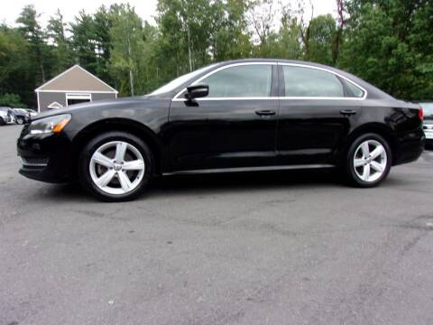 2013 Volkswagen Passat for sale at Mark's Discount Truck & Auto Sales in Londonderry NH