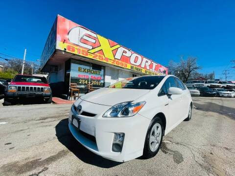 2010 Toyota Prius for sale at EXPORT AUTO SALES, INC. in Nashville TN